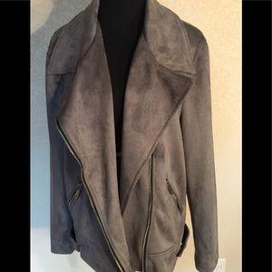 Ladies moto style jacket